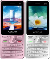 Gfive Z18 Combo of Two Mobile(Silver, Pink)
