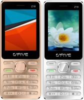 Gfive Z18 Combo of Two Mobile(Silver, Gold)