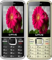 Gfive G9 Combo of Two Mobile(Black, Champagne Gold) - Price 2060 31 % Off