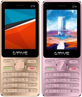 Gfive Z18 Combo of Two Mobile(Pink, Gold) - Price 2159 28 % Off