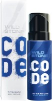 Wild Stone Code Titanium Body Spray  -  For Men(120 ml)