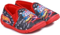 Hot Wheels Boys Slip on Espadrilles(Black)