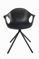 View Ventura Plastic Cafeteria Chair(Finish Color - Black) Furniture (Ventura)