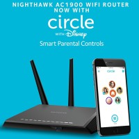 Netgear R7000 AC1900 Dual Band Nighthawk Smart WiFi Router