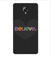 OBOkart Back Cover for OnePlus 3, OnePlus 3(Believe design, Waterproof)