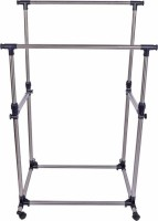 ourcollection DRYING RACK FGTR - 7 N Steel Floor Cloth Dryer Stand(Silver)