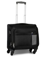 Novex 15.6 Laptop Overnighter Check-in Luggage - 24 inch(Black)