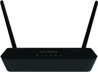 Netgear D1500 N300 WiFi Modem Router(Black, Single Band)
