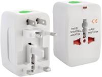 Oxyura Universal World Wide Travel Charger Adapter Worldwide Adaptor(White)