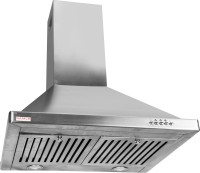 Gamle Kitchen AWA 90 Wall Mounted Chimney(Silver 1200)