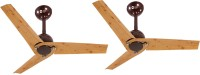 View Orient Joan pinewood met brown 3 Blade Ceiling Fan(Pinewood met brown) Home Appliances Price Online(Orient)