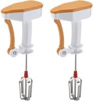 Prince Power free easy flow Hand Blender 0 Mixer Grinder(OrangeXOrange)