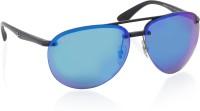 Ray-Ban Aviator Sunglasses(Blue)