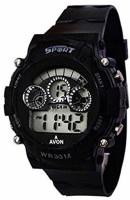 MAPA STYLE 7 LIght Black Digital Wrist Boys & Girls Digital Watch MPSTYLE 002 Watch  - For Men