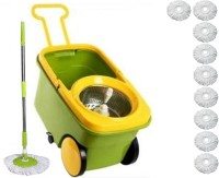 THUNDERFIT Floor Cleaning Mop-A30 Wet & Dry Mop(Multicolor)