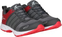 Kraasa Fast Running Shoes For Men(Grey, Red)