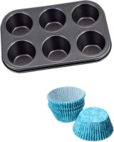 Hua You Cupcake/Muffin Mould(Pack of 2)