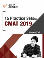 CMAT 15 Practice Sets 2019 : CMAT 2019 with 0 Disc(ENGLISH, Paperback, Gautam Puri)
