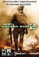 Call of Duty: Modern Warfare 2 Download code only(No CD/DVD)(Code in the Box - for PC)