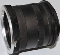 BOOSTY Extension Tube for Nikon D5000 D5100 D5200 D7000 D7100 D3000 D3100 D3200 D90 D600 D610 Camera Accessory Adjustable Macro Extension Tube(Pack of 1)