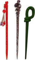 Accessher wedding Combo of Multi Color Juda Sticks Bun Stick(Multicolor) - Price 420 79 % Off