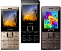 Gfive Z9 Combo of Three Mobile(Gold, Black & Coffee)