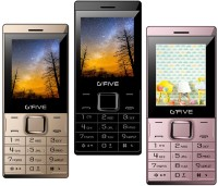 Gfive Z9 Combo of Three Mobile(Gold, Black & Rose)