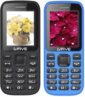 Gfive N9 Combo of Two Mobile(Black & Blue) - Price 1099 31 % Off