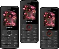 Gfive U229 Combo of Three Mobile(Black $$ Grey, Black $$ Red & Black $$ Orange) - Price 1759 26 % Off