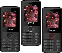 Gfive U229 Combo of Three Mobile(Black $$ Blue, Black $$ Grey & Black $$ Red) - Price 1659 30 % Off