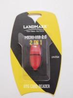 Landmark LM-OTG14 Card Reader(Orange)