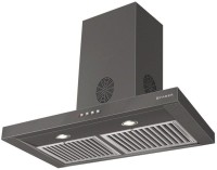 Faber Hood Stilo Slim 3D Plus T2S2 LTW 60 ( with free sandwich maker from giftipedia) Wall Mounted Chimney(Black 1150)