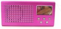 CRETO latest model lv 880 metal fm radio support usb pendrive, aux and memory card. FM Radio(black, pink, blue)