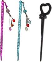 NIKKU Combo of Multi Color Juda Sticks Hair Accessory Set(Multicolor) - Price 420 79 % Off
