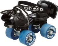 Cosco Tenacity Super Quad Roller Skates - Size Suitable for 4 to 7 years OR Shoe size from 16.6 cms to 18.6 cms, 8.5 - 11 ( UK Quad Roller Skates - Size Suitable for 4 to 7 years OR Shoe size from 16.6 cms to 18.6 cms,  8.5 - 11 ( UK(Blue)
