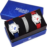 Mikado Stylish Combo watches for Women and Girls Watch  - For Women