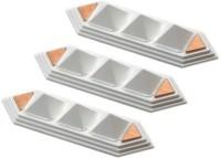 Jiten Pyra Strip Pyramid (Set of 3) PP (Polypropylene) Yantra(Pack of 1)