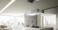 Faber Chimney Hood Sky LIFT X/WH F90 (with free gift cutlery set from Giftipedia) Ceiling Mounted Chimney(White 1000 CMH)