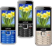 Gfive G9 Combo of Three Mobiles(Black $$ Rose Gold $$ Blue)