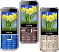 Gfive G9 Combo of Three Mobiles(Coffee $$ Rose Gold $$ Blue)