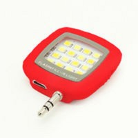 ZEVORA 3.5 Selfie Flash(Adjustable Brightness Red)