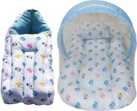 heaven's care Cotton Bedding Set(Blue)