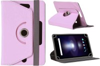 Jkobi Flip Cover for Lava Xtron Z704(Baby Pink, Leather)