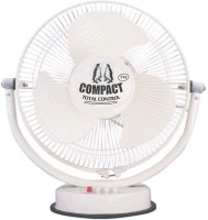 View Compact High Speed All Purpose 3 Blade Table Fan(white) Home Appliances Price Online(Compact)