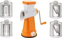 Incredible 4in1 Dicer 00 Mixer Grinder(Orange, 4 Jars)