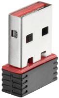 AFRODIVE Mini Wi-Fi Receiver 2.4GHz, 802.11b/g/n ,2.0 Wireless Wi-Fi USB Adapter (Black) USB Adapter(Black)