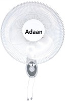 View Adaan 12 inch 3 Blade Wall Fan(White) Home Appliances Price Online(adaan)