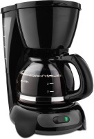 Amikan Coffee Maker Premium Quality 4 Cups Coffee Maker(Black)