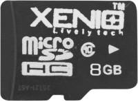Xenio Micro 8 GB MicroSD Card Class 6 24 MB/s  Memory Card