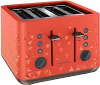Morphy Richards Prism 2200 W Pop Up Toaster(Orange)